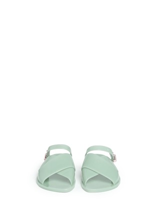 Front View - Click To Enlarge - Melissa - x Jason Wu 'Diane' cross vamp slides