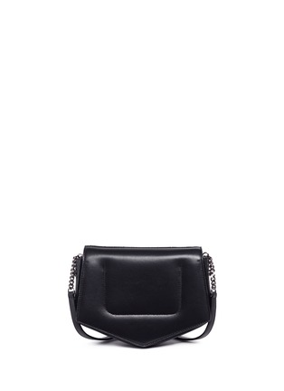Detail View - Click To Enlarge - Jimmy Choo - 'Arrow' chevron leather crossbody bag