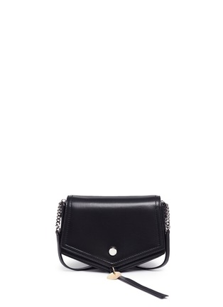 Main View - Click To Enlarge - Jimmy Choo - 'Arrow' chevron leather crossbody bag
