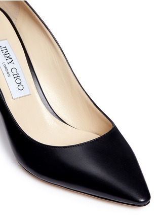 Detail View - Click To Enlarge - Jimmy Choo - 'Romy 85' leather pumps