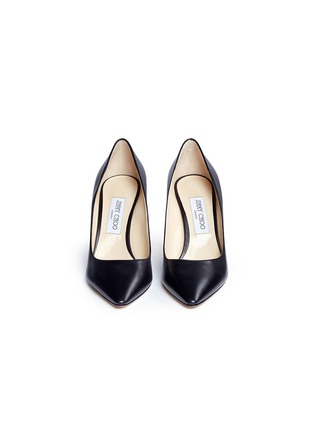 Front View - Click To Enlarge - Jimmy Choo - 'Romy 85' leather pumps