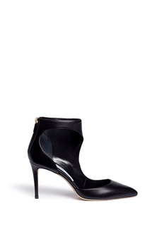 Jimmy Choo 'Taris 85' cutout nappa leather ankle boots