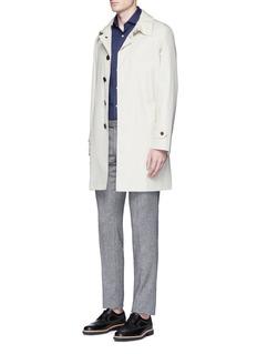 Sealup'Naviglio' twill coat