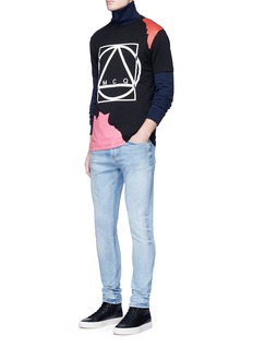 McQ Alexander McQueen Abstract glyph logo print T-shirt