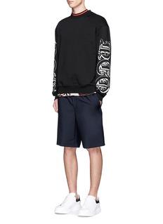 McQ Alexander McQueenGothic tattoo logo print sweatshirt