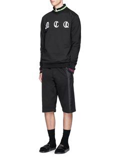 McQ Alexander McQueenGothic logo embroidered sweatshirt