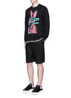 McQ Alexander McQueen'Glitch Bunny' print sweatshirt