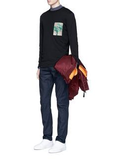 McQ Alexander McQueenLogo print long sleeve T-shirt