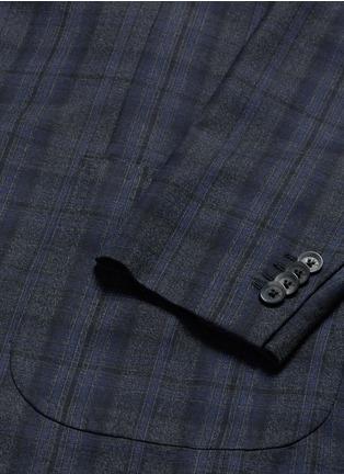 - ISAIA - 'Cortina' check wool blazer
