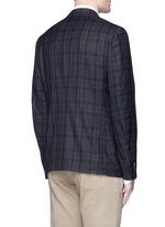 'Cortina' check wool blazer
