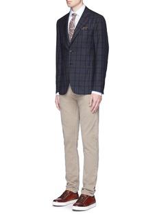 ISAIA'Cortina' check wool blazer