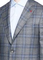 'Cortina' check cashmere blazer