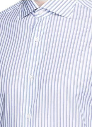 ISAIA-'Milano' stripe cotton shirt
