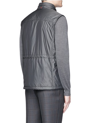 ISAIA - Retractable hood vest