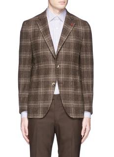 ISAIA'Sailor' check wool blazer