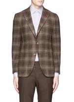 'Sailor' check wool blazer