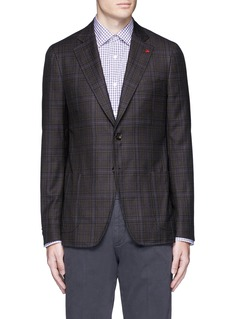 ISAIA 'Cortina' check wool blazer