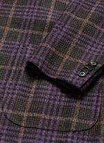 'Cortina' Glen plaid wool-silk-cashmere blazer