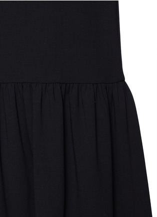 Detail View - Click To Enlarge - The Row - 'Rinnah' stretch virgin wool skirt