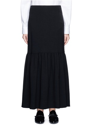 Main View - Click To Enlarge - The Row - 'Rinnah' stretch virgin wool skirt