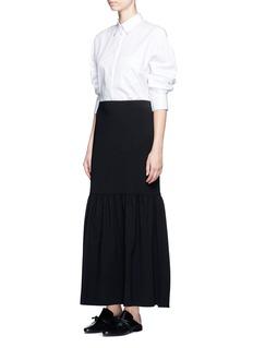 The Row'Rinnah' stretch virgin wool skirt