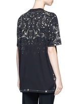 Constellation print cotton T-shirt