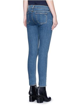 Back View - Click To Enlarge - rag & bone/JEAN - 'Capri' cropped skinny jeans