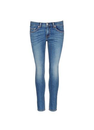 Main View - Click To Enlarge - rag & bone/JEAN - 'Capri' cropped skinny jeans