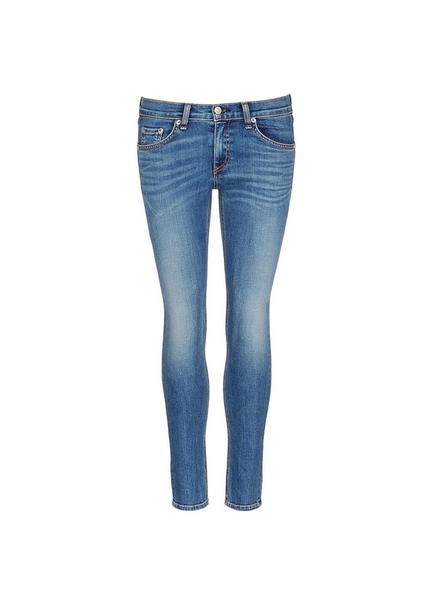 Capri cropped skinny jeans by rag & bone/JEAN