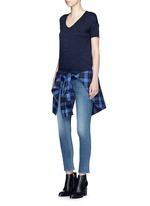'Capri' cropped skinny jeans
