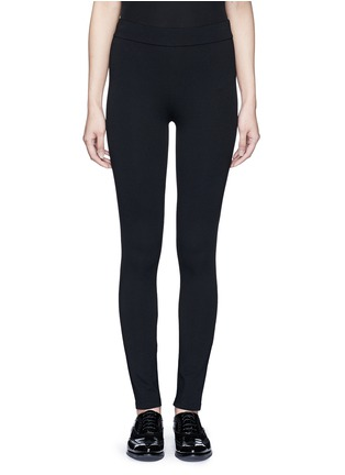 Main View - Click To Enlarge - Theory - 'Shawn C' ponte knit jersey leggings