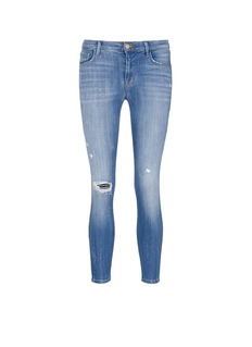 J Brand'835' distressed cropped jeans