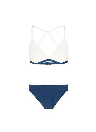 Flagpole Swim-'Casey' cutout back triangle bikini set
