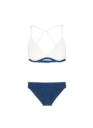 Main View - Click To Enlarge - Flagpole Swim - 'Casey' cutout back triangle bikini set