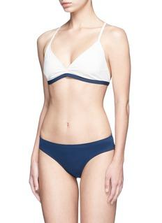 Flagpole Swim'Casey' cutout back triangle bikini set