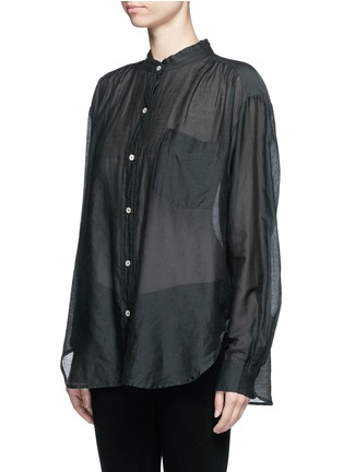 Front View - Click To Enlarge - Isabel Marant Étoile - 'Lixy' cotton-silk shirt