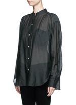'Lixy' cotton-silk shirt