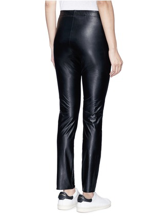 Back View - Click To Enlarge - Isabel Marant Étoile - 'Jeffrey' faux leather skinny pants