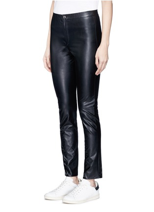Front View - Click To Enlarge - Isabel Marant Étoile - 'Jeffrey' faux leather skinny pants