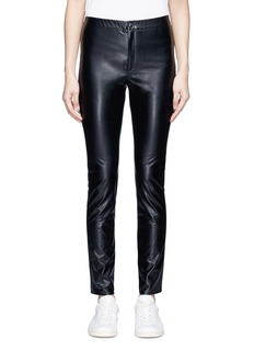 Isabel Marant Étoile 'Jeffrey' faux leather skinny pants