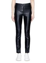'Jeffrey' faux leather skinny pants