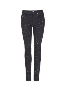 Isabel Marant Étoile'Ennett' splatter paint print skinny jeans