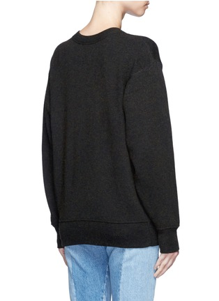 Back View - Click To Enlarge - Isabel Marant Étoile - 'Benton' cotton-wool sweater