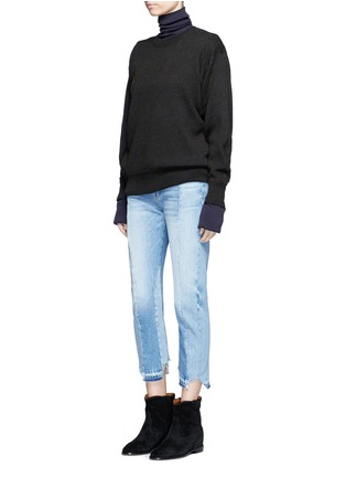 Figure View - Click To Enlarge - Isabel Marant Étoile - 'Benton' cotton-wool sweater