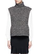 'Haway' turtleneck chunky knit vest