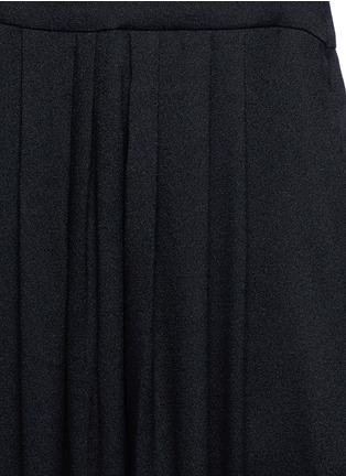 Detail View - Click To Enlarge - Isabel Marant Étoile - 'Neil' rouleau loop V-neck dress