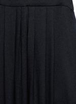 'Neil' rouleau loop V-neck dress