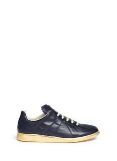 MAISON MARGIELA'Replica' metallic sole leather sneakers