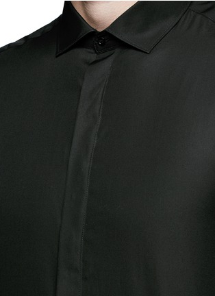 Detail View - Click To Enlarge - Neil Barrett - Cotton poplin shirt