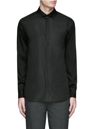 Main View - Click To Enlarge - Neil Barrett - Cotton poplin shirt